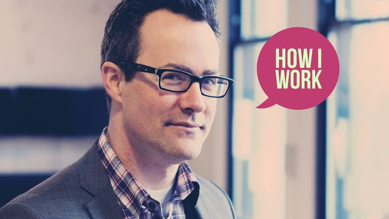 I'm Clive Thompson, and This Is How I Work