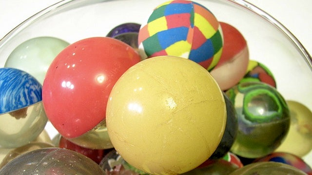 The bouncy science of toy superballs