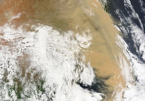 Sydney Dust Storm Proves Geoengineering the Oceans Could Work