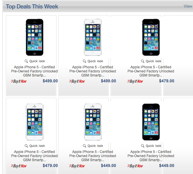 Apple's Secret Ebay Store Is Back With Cheap Refurbished iPhones