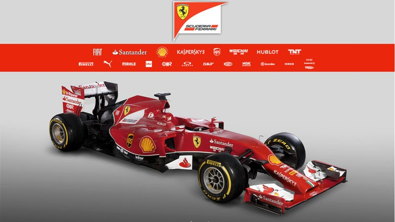 Ferrari's New F1 Car Has Neither A Penis Nor A Vagina Nose