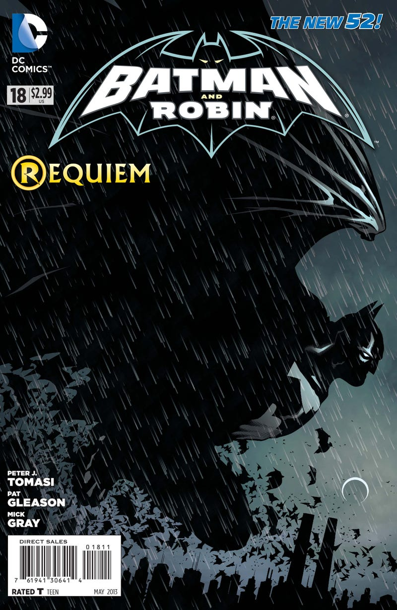 Batman's Crying Butler Is My Favorite Scene from This Week's Comics. What's Yours?