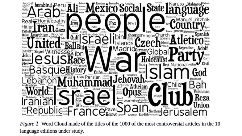 Chile y el Opus Dei, entre los artículos más polémicos de Wikipedia