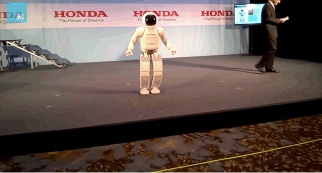 The Latest Incarnation Of ASIMO Is Actually Quite Badass