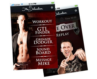 The Situation's iPhone App Will Make You Just as Awesome as He Is