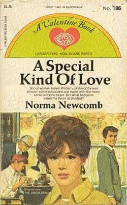 A Career Romance For Young Moderns: A Special Kind of Love