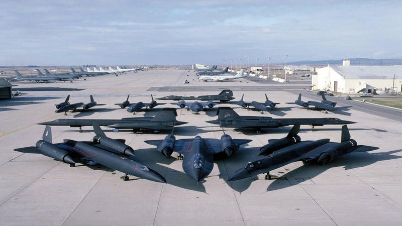 Holy Crap—Look at All These SR-71 Blackbirds Together!