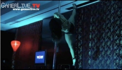Video Game Journalist's Innocence Lost to Pole-Dancing Booth Babes