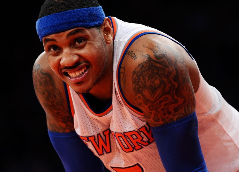 Reports: Carmelo Anthony To Return To Knicks