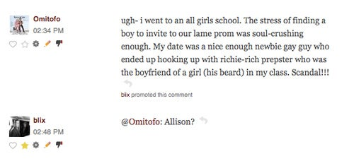 Comments of the Day: The Best of Prom Memories