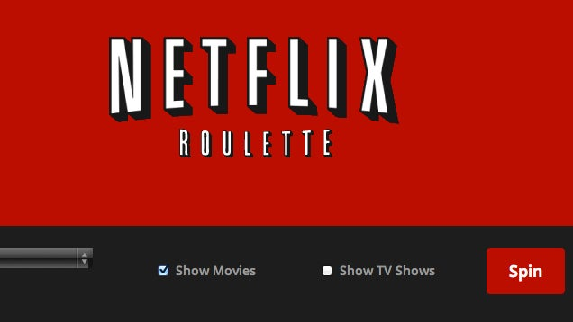 Netflix Roulette Picks a Random Movie for You to Watch
