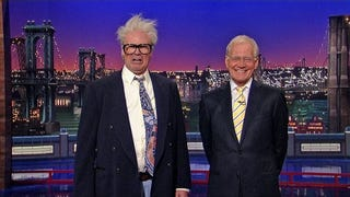 Will Ferrell Dusts Off His Harry Caray Impression On Letterman