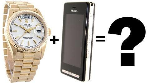LG Shows Rolex Cellphone Concept