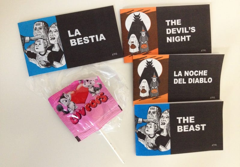 These Devil Booklets Are the Very Worst Halloween Treats