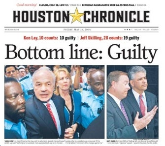 San Antonio and Houston Papers to Merge?