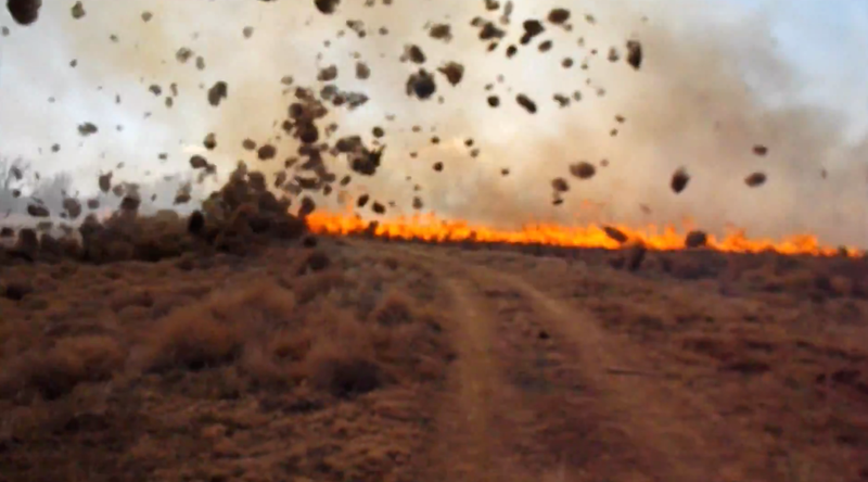 Science of the Fiery Dust Devil Spawned by a Controlled Burn