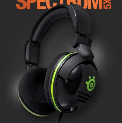 SteelSeries Spectrum Headsets Are Tailored For the Xbox 360