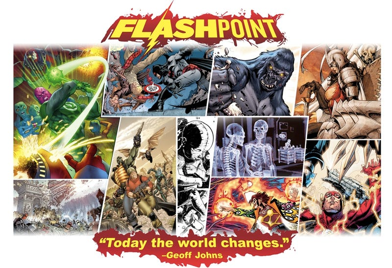 What on infinite earths is going on in this Flashpoint teaser?