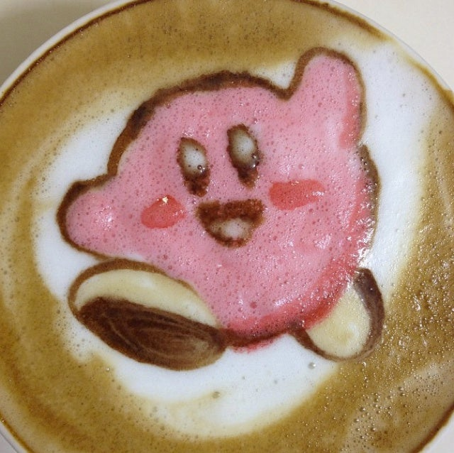 Nerdy Cafe Latte Art Is More Amazing in Color