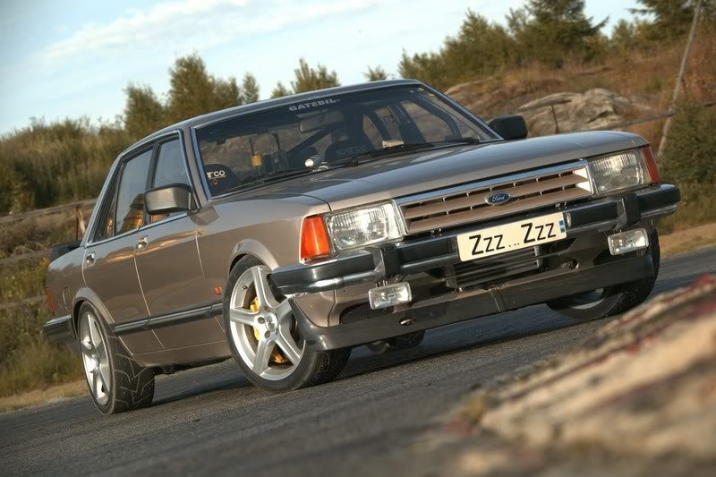 A 1700-hp Ford Granada Makes All The Sense In The World