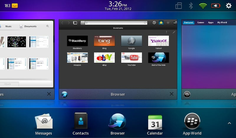 BlackBerry PlayBook 2.0 Test Notes: Worth the Wait?