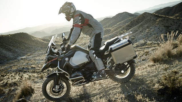 How To Ride A Big, Heavy Motorcycle Off-Road