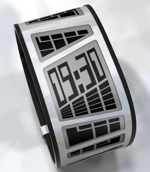 TokyoFlash's E-Ink E-Clock