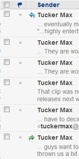Tucker Max Lies About Totally Inconsequential Thing