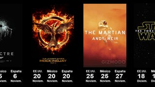 Los principales estrenos de 2015, en una sola imagen <i>(actualizado)</i>