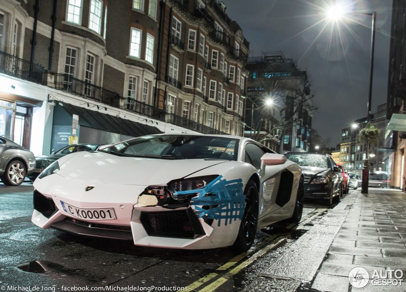If you are not wealthy enough, don't buy an Aventador!