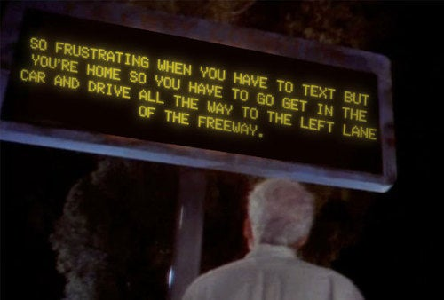 Steve Martin On Texting While Driving