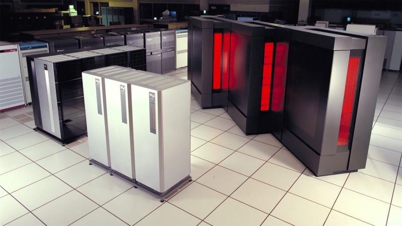 25 Supercomputers That Fill Entire Rooms