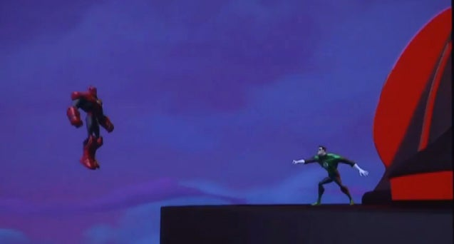Green Lantern Animated Series Pictures