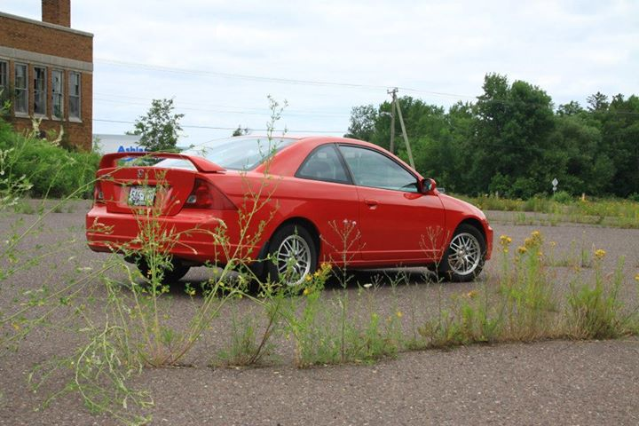 Boring red Honda photodump.