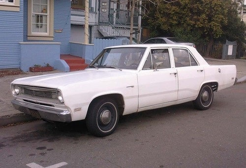 1969 Pymouth Valiant Down On The Alameda Street