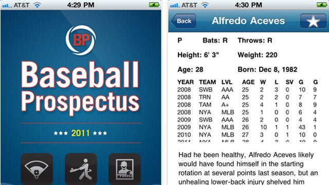 Baseball Prospectus App: The Only Fantasy Draft Prep You Need