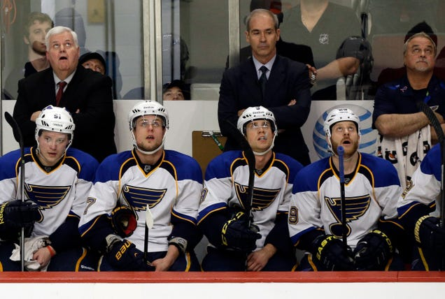 No, The CDC Hasn't Quarantined The St. Louis Blues