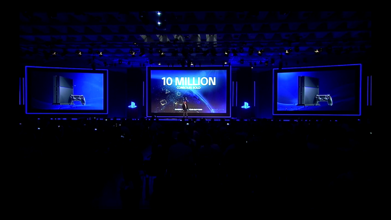 Sony Has Sold 10 Million PlayStation 4s