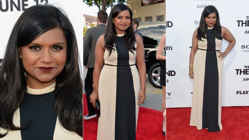 Mindy Kaling Goes Right Down the Line