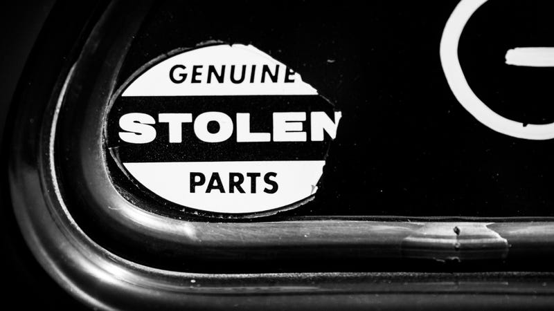 Show Us All The Cars You've Had Stolen From You