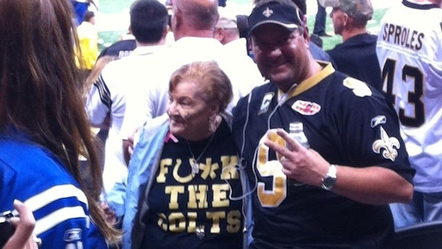 This Evening: Grandma Says Fu*k The Colts