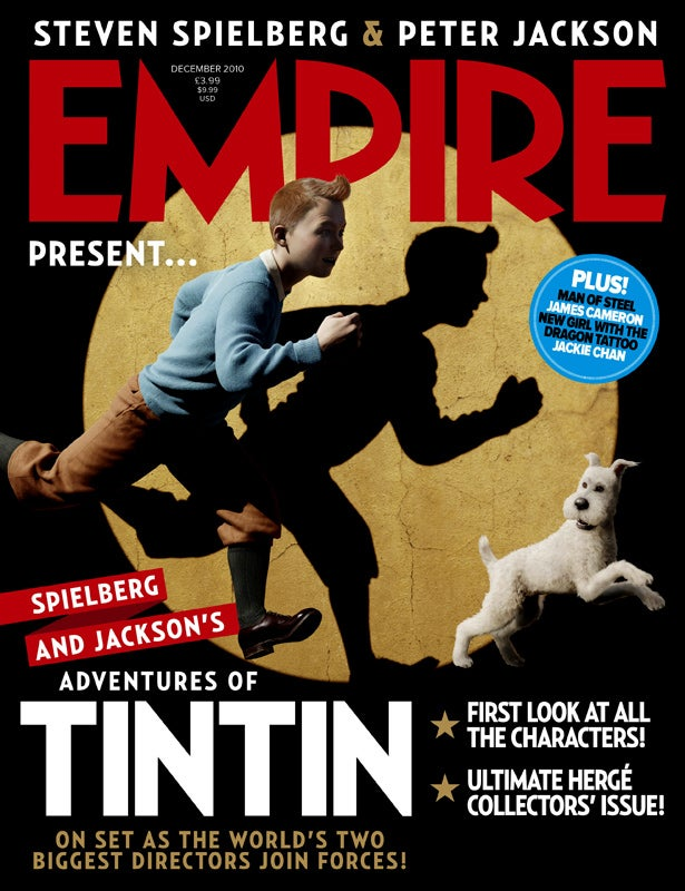 Check out the first images from Steven Spielberg's Tintin movie