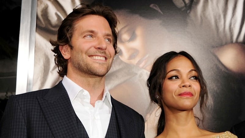 Bradley Cooper and Zoe Saldana Went to the Movies, Are Probably in Looooove Again