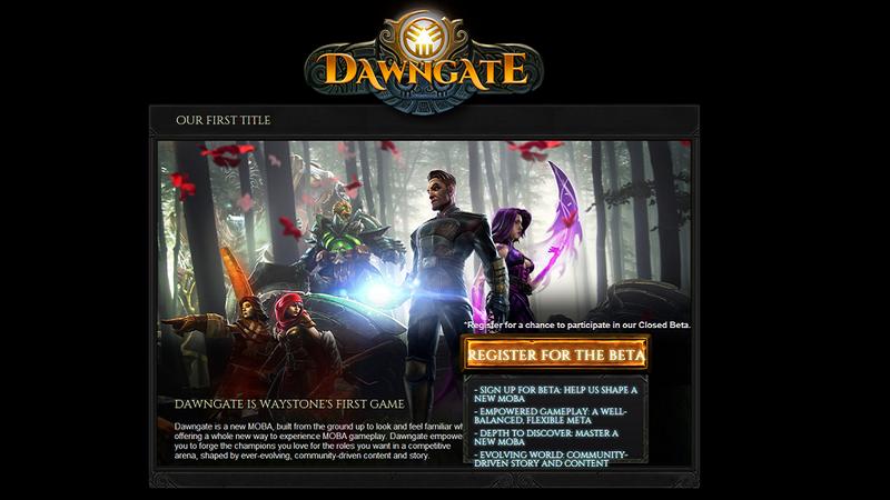 Looks Like EA Is Making A New Online Game Called Dawngate