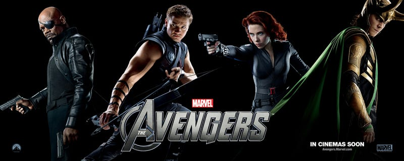 The Avengers Banners
