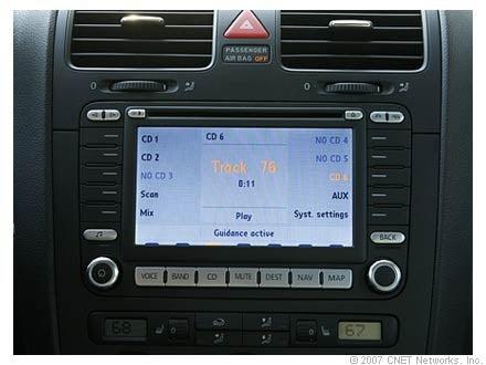 CNET Analyzes Automotive Interface Design