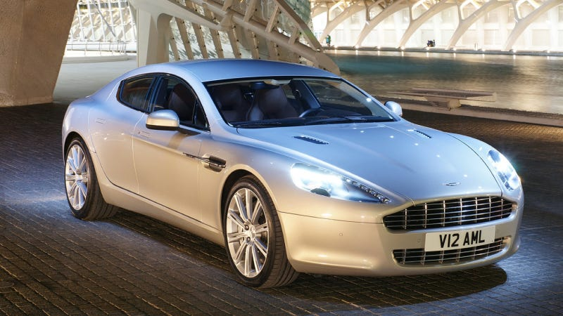 Would You Drive This Aston Martin Rapide If You Had To Street Park It In Manhattan?