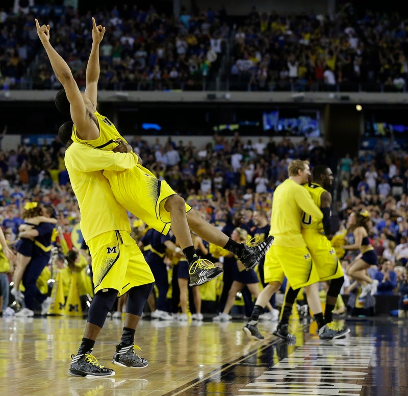 The Wolverines Beat Kansas Despite A Late-Game 99.4 Percent Chance Of Losing
