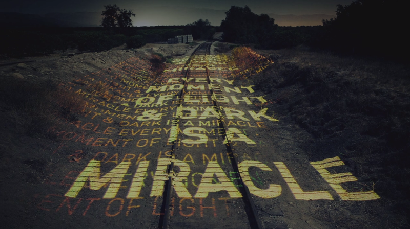"""A Railroad-Mounted """"Printer"""" That Covers Its Tracks in Laser Graffiti"""