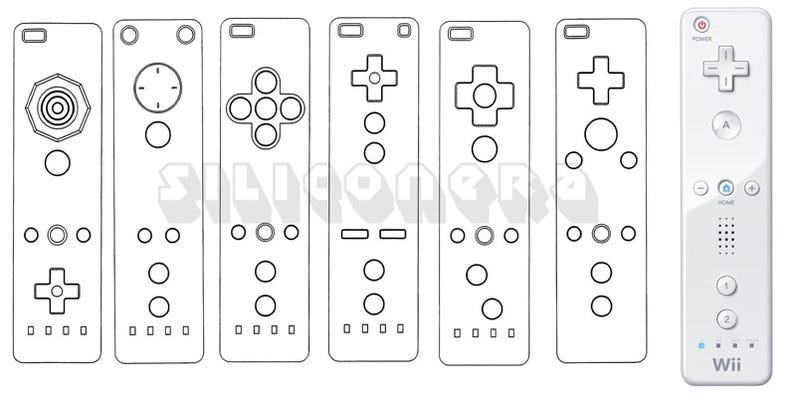 Early Wiimote Schematics Reveal More Wiimotes